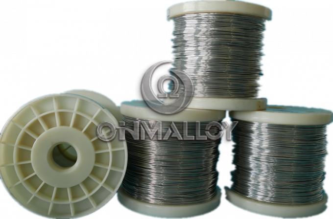 0.02mm 1J46 Wire Soft Magnetic Alloys Super Permalloy Magnetic Steel Alloys