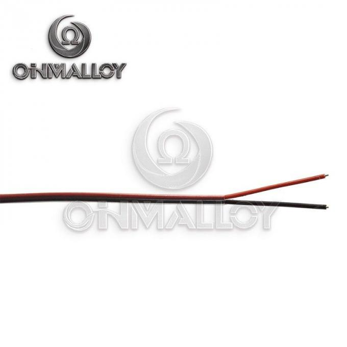 ANSI MC 96.1 Type K Thermocouple Cable 2xAWG16 With Silicone Rubber Jacket
