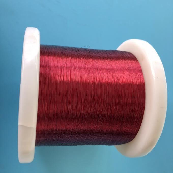 Lacquered Enameled Insulated Resistance Wire 180 Degree Celsius Coating Thermal Level