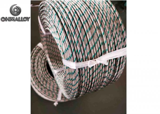 Thermocouple Compensation Cable Type K Instrumentation Cable PTFE Fiberglass Insulated SS310 Sheath 200M/Roll