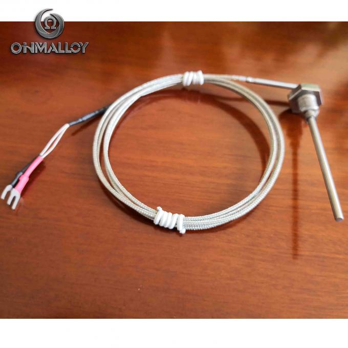 Mineral Insulated Duplex Thermocouple Cable Compensation Cable Type K J T S PT100 Seamless Tube Sheath