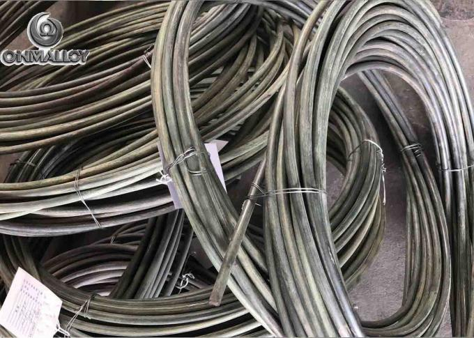 Coiled Nichrome Bare Thermocouple Wire 1200℃ Chromel Aumel ANSI Standard Class I 1 Meter Length