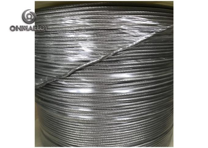 Outside Diameter 2.7mm Nichrome Alloy For Resistance Ceramic Pad Heaters Stranded Heating Wire