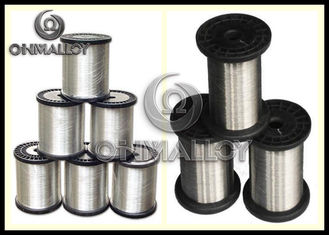 China Silvery Copper Nickel Alloy Wire Copper Based Alloys 1mm 1.5mm Dia For Heating Cables supplier