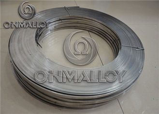 China Cr20Ni80 Nichrome Alloy , 0.05mm×100mm Nichrome Strip For Heating Foil supplier