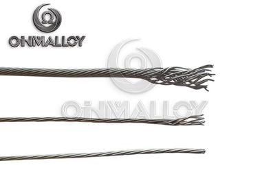 China 19 - Strands Nickel Cold Tail Lead Wire Ni 212 Pure Nickel Wire Anti - Oxidation supplier