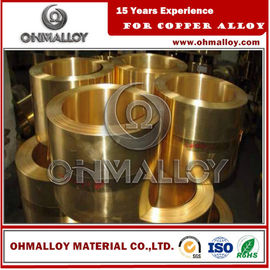China 0.8 * 150mm Copper Based Alloys Brass Strip / Tape Cu70Zn30 C26000 For Cartridge Case supplier