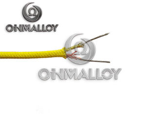 China 2x0.5mm² Cross Section NiCr/NiAl Alloy Wire Thermocouple Extension Cable Type K supplier
