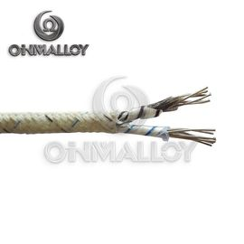 China AWG 20 Type K Thermocouple Wire With Steel Braided Shield / Fiberglass Insulation supplier