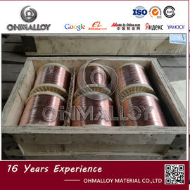 China Enameled Automotive Heating Wire CuNi6 Strand Wire 0.32ohm/M / 0.46ohm/M supplier