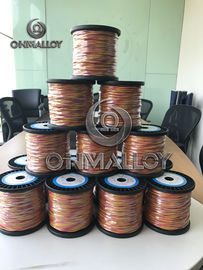 China Type K Thermocouple Cable KP KN Thermocouple Wire Electrical Resistivity 0.294 µΩ M supplier