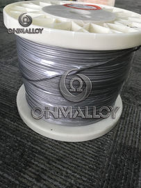China Heater Core Wire 19 strands Cr20Ni80 Nichrome Thermoelectric Alloys Wire supplier
