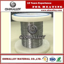 China Cr20Ni80 Thermoelectric / Heating Nichrome Alloy Wire For Ceramic Pad Heater supplier
