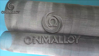 China Ni80Cr20 Metal herring bone weave wire mesh for medical equipment supplier