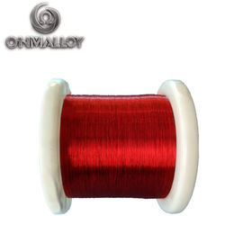 China Lacquered Enameled Insulated Resistance Wire 180 Degree Celsius Coating Thermal Level supplier