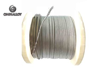 China 19 Strands 2080 Nickel Chromium Wire Hydrogen Annealing For Heating Rope material supplier