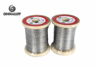 China Ni80 Flat Nichrome Alloy Wire Thickness 0.02 - 8.0mm Width 0.5 - 230mm 120v supplier