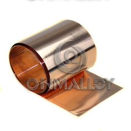 China C17200 Beryllium Copper Strip Annealling State Hardness<130HV 0.25mm x 250mm supplier