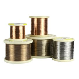 China CuNi10 / Alloy90 Heat Resistant Copper Alloys Wire For Electric Blankets supplier