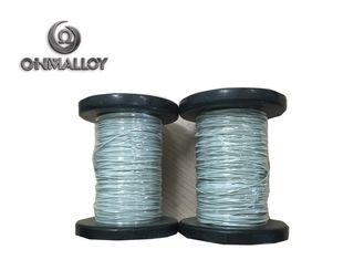 China PTFE Flat PTFE Insulated Wire / High Temperature Resistance Nicr 80 20 Cable supplier