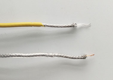 China Customized PFA Insulated Heating Cable With Inner Shielding / Copper Nickel Wire supplier