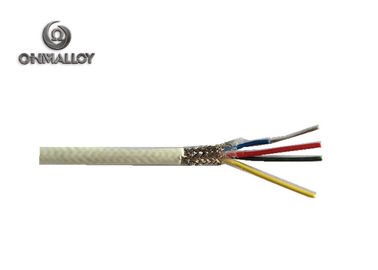 China PTFE PVC PFA Insulated Thermocouple Cable For Temperature Sensor supplier