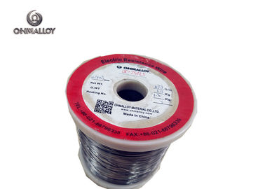 China Acid White Soft OCr25Al5 FeCrAl Alloy Resistance Heating Wire For Furnace supplier