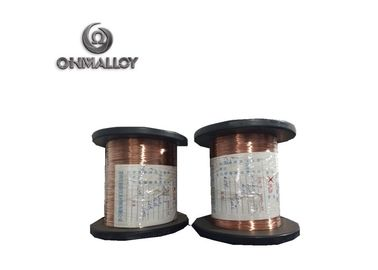 China Winding Heating Resistance Wire Constantan / Copper Nickel / CuNi44 Material supplier