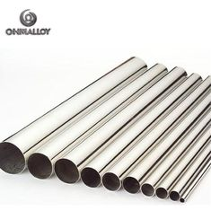 China Electric Apparatus Pure Metals Nickel 201 Tube / Pipe OD 2mm-6mm supplier