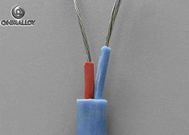 China Multi Cores Silicone Rubber Type J Thermocouple Wire Insulated -10-200°C supplier