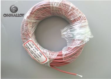China Fiberglass Silicon Rubber Insulated Resistance Wire NiCr Heating Wire 300V Rated Voltage supplier