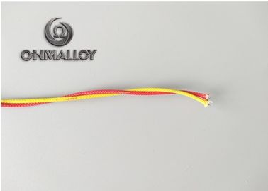 China 0.81 Mm Type K Thermocouple Wire With Fiberglass Insulation Custom Color supplier