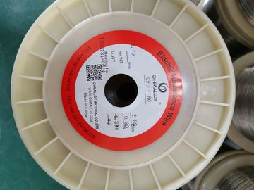 China Resistance Ni80 Nichrome Wire Customized Dimensions For Heating Elements supplier