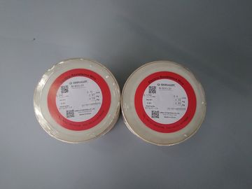 China Ni80Cr20 Flat Wire Nichrome Alloy Bright Oxidation Surface High Resistance supplier