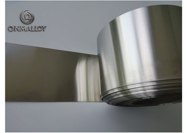 China Silver CuNiZn Copper Based Alloys C7521 Foil For Transformer Electrostatic Plate supplier