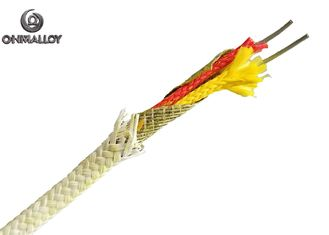 Mica Wrap Fiber Glass PWHT Thermocouple Type K Cable 650℃ 100M IEC ANSI Standard​