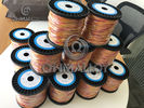Dia 0.67mm Type K KP KN Thermocouple Wire / Cable 500 Degree Fiberglass