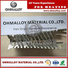 China OHMALLOY Mica Electric hair dryer heating element Resistance China,popuar for our regulars factory