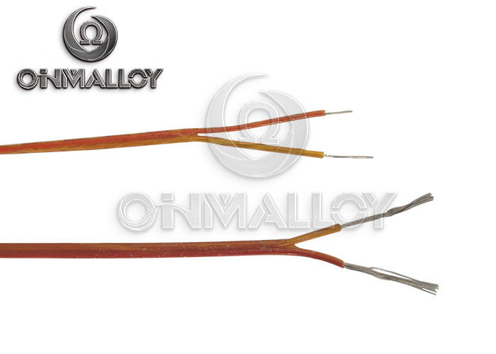0 25mm Red Yellow Thermocouple Cable Type K Kx Extension
