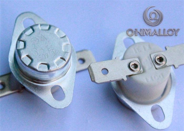 Ni22Cr3 / Ni36 Kanthal Bimetallic Material For Thermostat ...