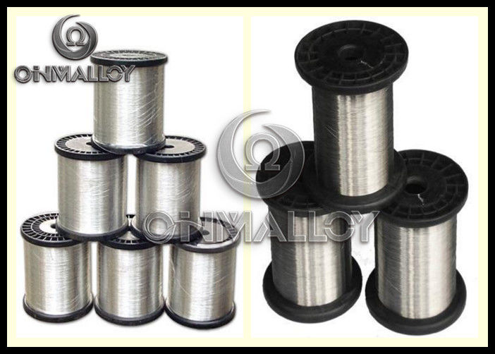 Silvery copper nickel alloy wire based alloys mm