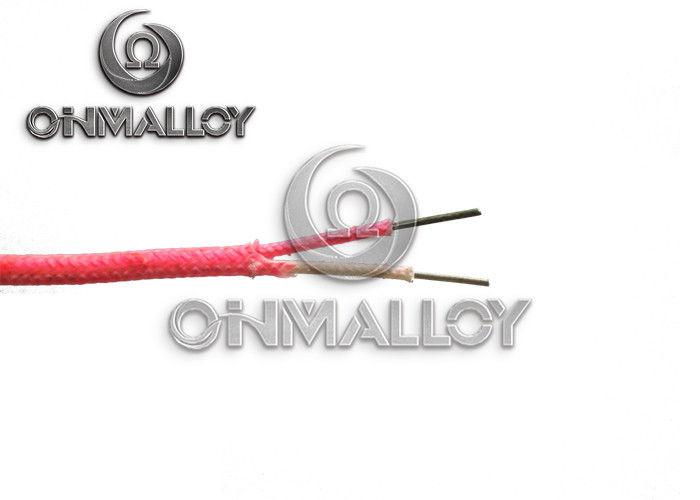 0 81mm awg 20 type k thermocouple extension cable with fiberglass insulation