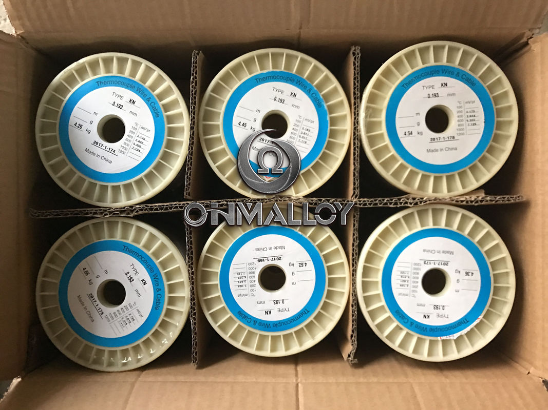 0.71 Mm Bright K KP / KN Nickel Alloy Wire Bare Cable GB/T Standard ...