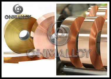 99.90 % Soft Commutators Pure Copper Strip Bright Surface Climate - Hardiness
