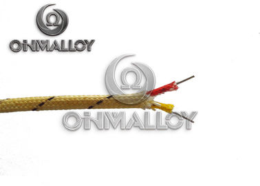 China ANSI 96.1 Yellow / Red K Type Thermocouple Cable With High Temp Insulation 3.2mm factory