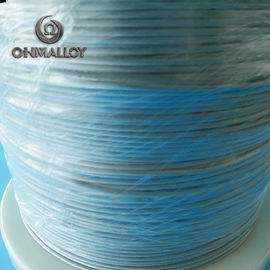 China CE Approved FeCrAl Alloy NiCr2080 Heating Flat Wire For Sealing Machine factory