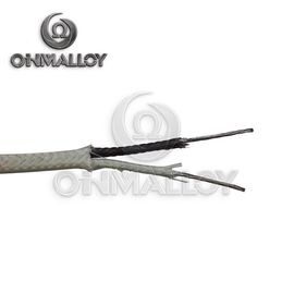 STRANDED #24 THERMOCOUPLE [J] WIRE  SINGLE GLASS BRAID W/ FIBERGLASS JACKET