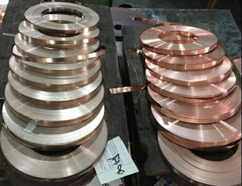 Nickel Plated Beryllium Copper Alloys High Strength C1720 / C17200 Corrosion Resistant
