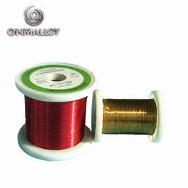 China Red Enameled Resistance Heating Wire , High Temperature Resistance Wire 8.9g/Cm3 Density factory