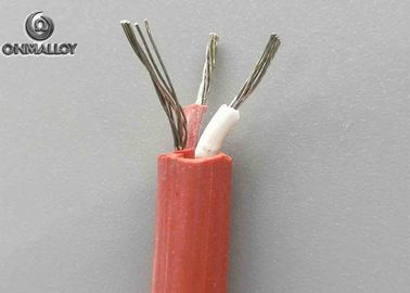 China Class I Thermocouple Cable Multi Strands Flexible Silicone Rubber Sheath factory